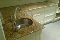 bespoke granite worktop